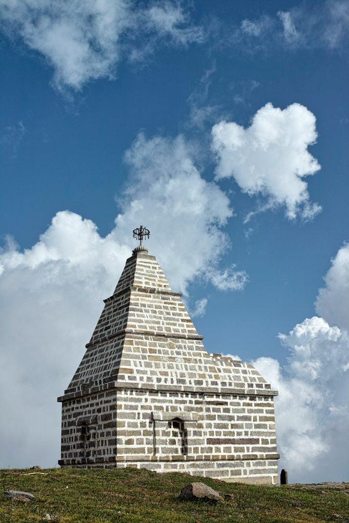 ShankhPal Temple near Patnitop (J&K)